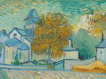 'Vue de l'asile', de Van Gogh
