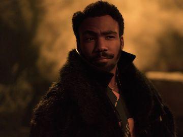 Donald Glover es Lando Calrissian