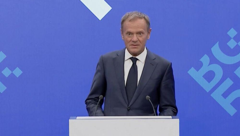 El presidente del Consejo Europeo dice que con amigos como Trump no se necesitan enemigos