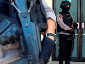 Policía de Indonesia