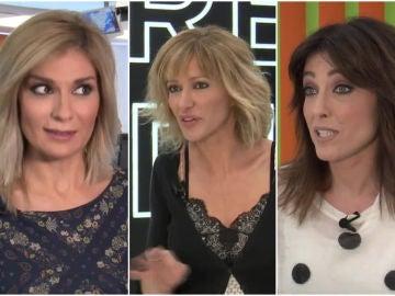 Sandra Golpe, Susanna Griso y Helena Resano, contra el manual de la AFA