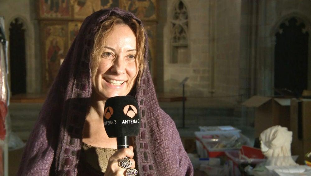 Nathalie Poza nos lo cuenta todo sobre Francesca, su personaje en 'La Catedral del Mar'