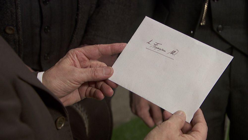 """La carta de doña Francisca a Raimundo: """"Confía en mí, vida mía"""""""