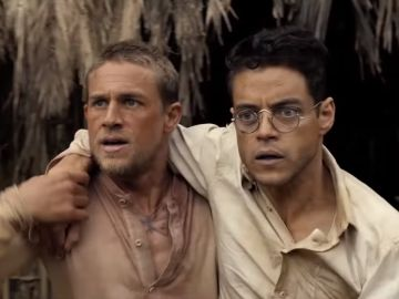Charlie Hunnam y Rami Malek en 'Papillon'