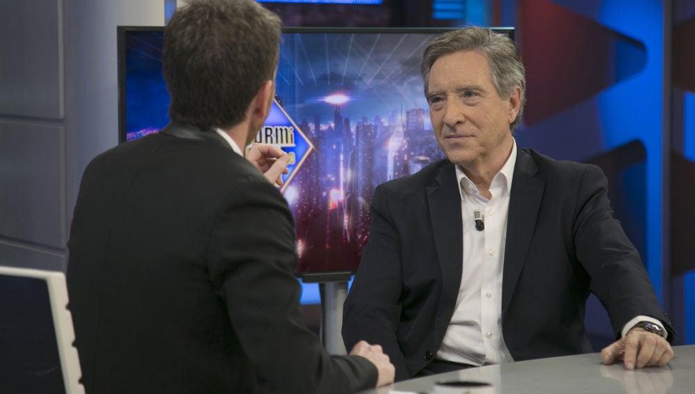 Iñaki Gabilondo y Pablo Motos conversan en 'El Hormiguero 3.0' sobre la situación actual del periodismo