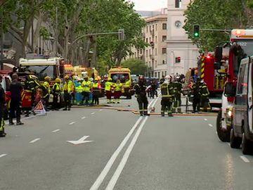 La Fiscalía de Madrid investigará el derrumbe del edificio en rehabilitación en Madrid
