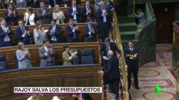 laSexta Noticias 20:00 (23-05-18) - Rajoy logra sacar adelante los Presupuestos con el apoyo in extremis del PNV