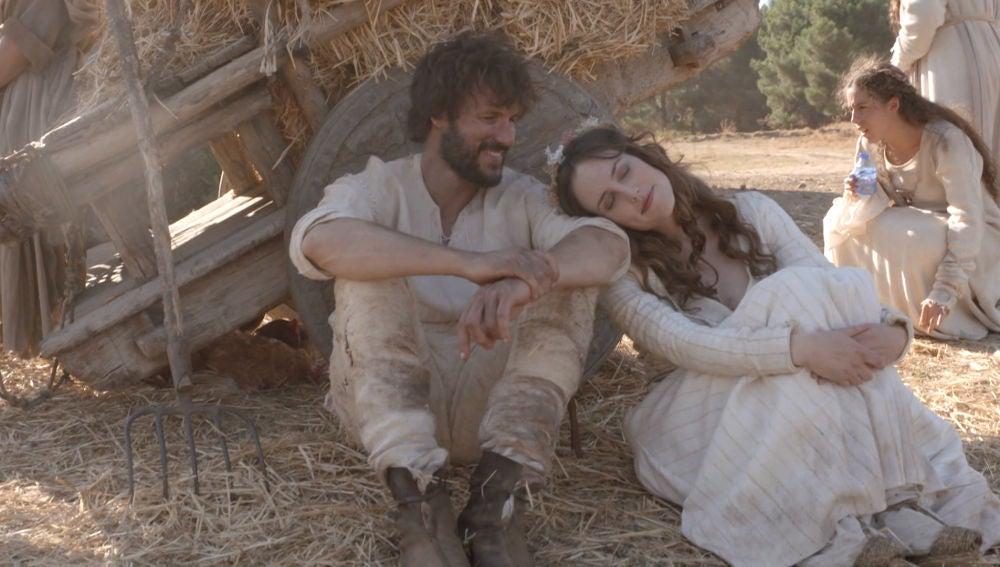 Así se grabó la ansiada boda entre Bernat y Francesca
