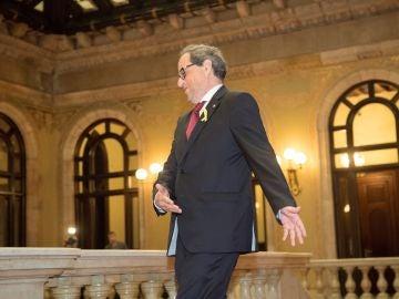 El presidente de la Generalitat de Catalunya, Quim Torra