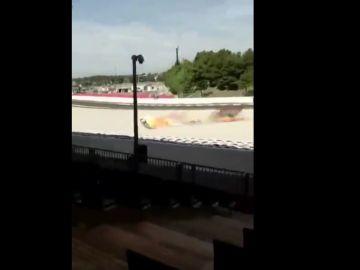 El accidente de Tito Rabat en Montmeló