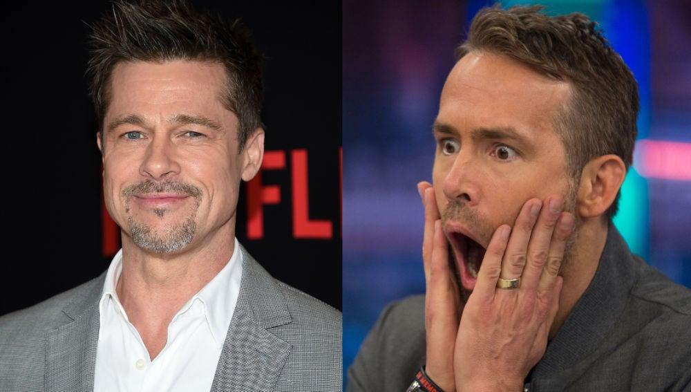 Brad Pitt y Ryan Reynolds