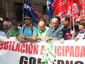 Policías de toda España protestan
