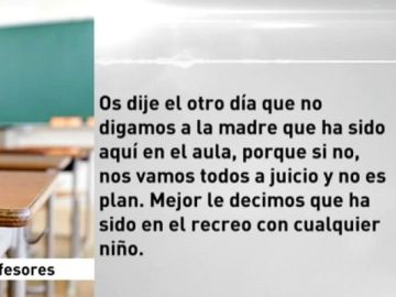 Audios de los profesores del colegio de Cáceres