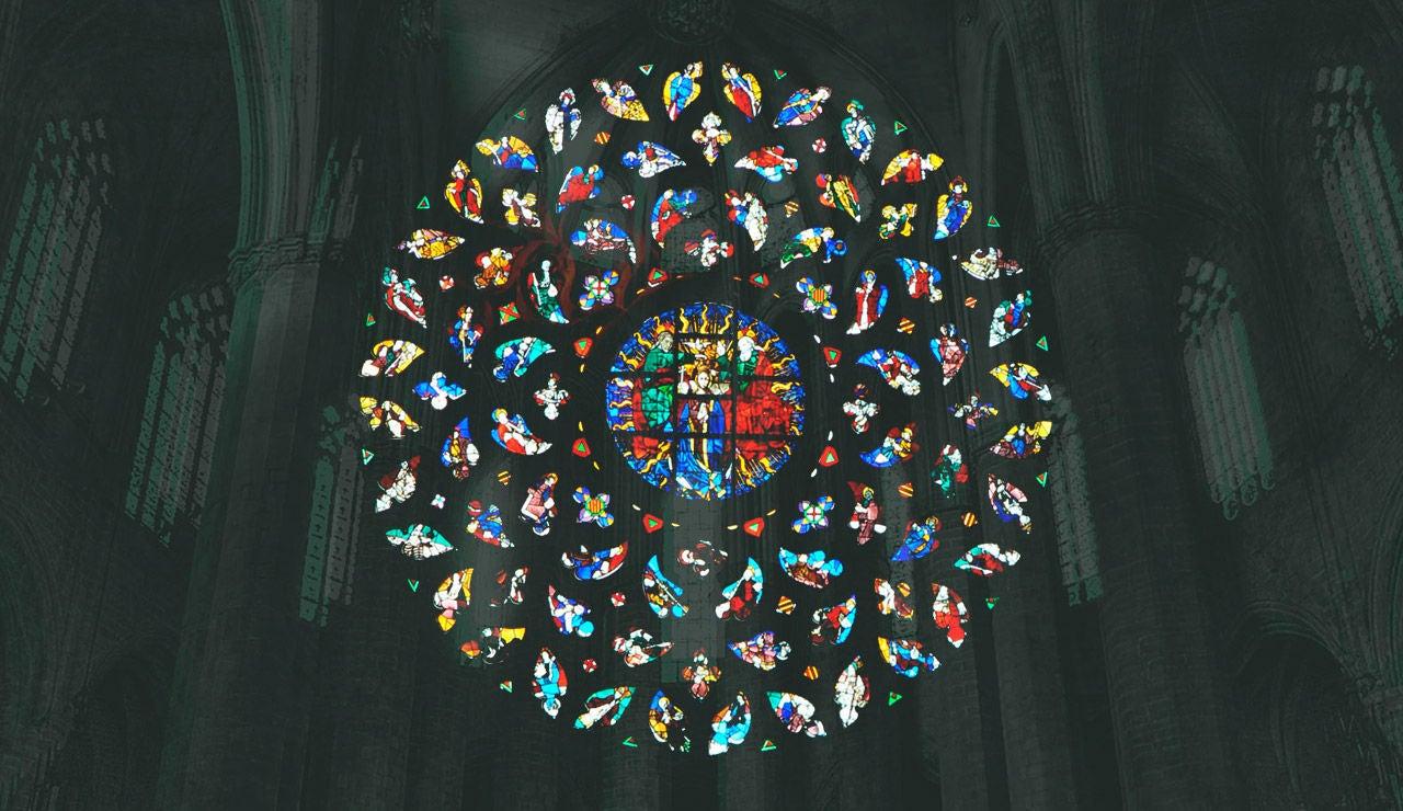Decora el rosetón de 'La Catedral del Mar'