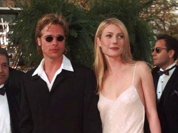 Brad Pitt y Gwyneth Paltrow en 1996