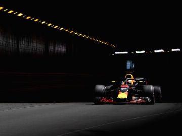 Daniel Ricciardo, en el trazado de Montecarlo