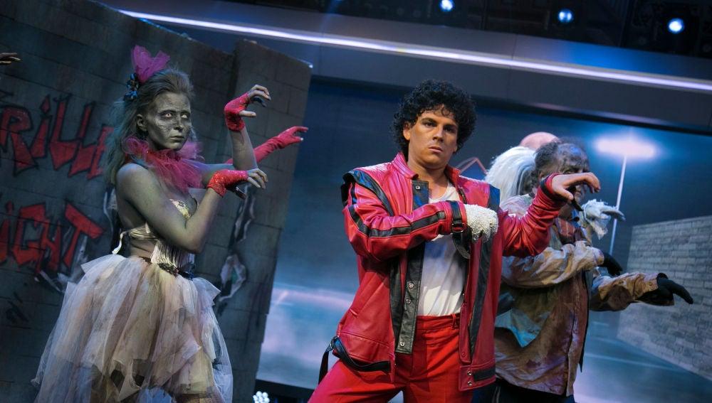 El divertido juego de Pablo Motos y La Toya Jackson sobre 'Thriller' en 'El Hormiguero 3.0'