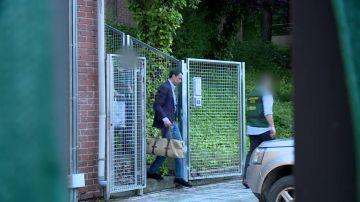 Zaplana abandonaba la comandancia de la Guardia Civil de Tres Cantos en Madrid