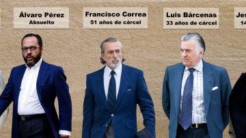 Condenados por el caso Gürtel
