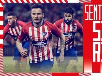 La nueva camiseta del Atlético de Madrid para la próxima temporada