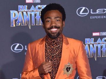 Donald Glover en la premiere de 'Black Panther'