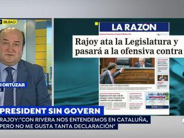 """Uno de los argumentos de PNV para aprobar los Presupuestos era evitar elecciones anticipadas: """"No vamos a hacer nada por favorecer a Rivera"""""""