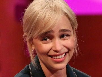 Emilia Clarke en una de sus últimas apariciones públicas