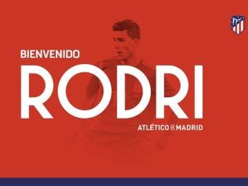 Rodri ficha por el Atlético de Madrid