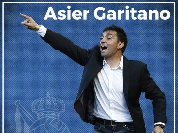 Asier Garitano, nuevo entrenador de la Real Sociedad