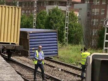 Accidente ferroviario en Vizcaya sin heridos