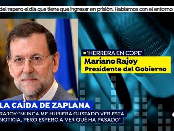 """Rajoy: """"La gente tiene derecho a un juicio justo ante la Justicia y ante la sociedad"""""""