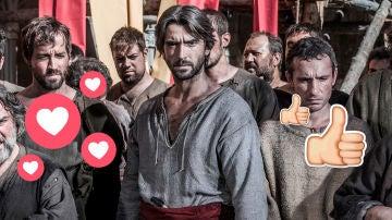 Las redes sociales alaban el gran estreno de 'La Catedral del Mar'