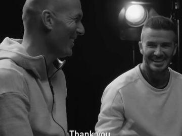 """La petición de Beckham a Zidane antes de la final de la Champions: """"Ganad al Liverpool, por favor..."""""""