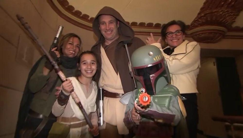 Los personajes de la saga de Star Wars de nuevo más vivos que nunca