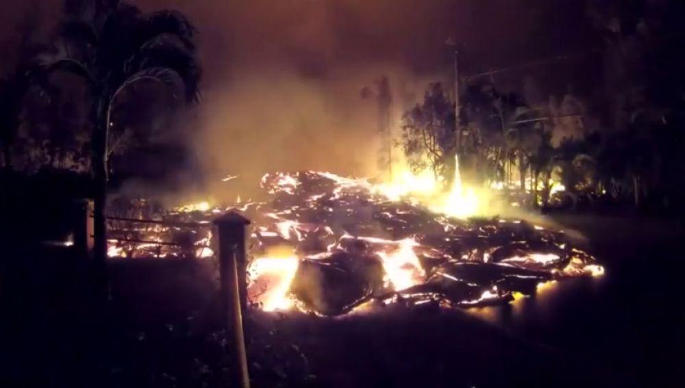 La actividad del Kilauea captada en cámara rápida en su cuarta semana de erupción