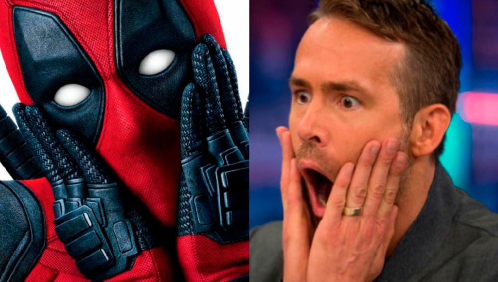 Ryan Reynolds, asustado por partida doble