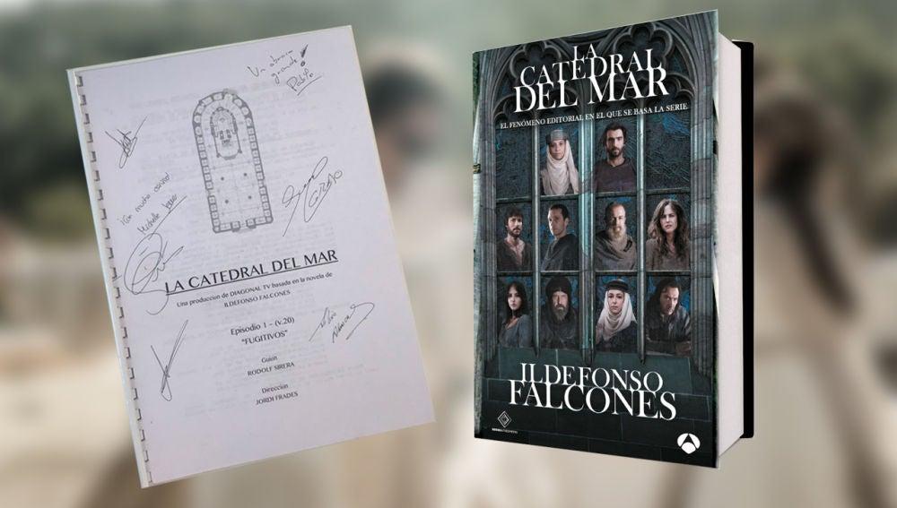 ¿Quieres un guion firmado por los actores y una edición especial del libro? ¡Participa en este concurso!