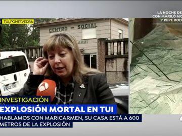 """Los vecinos de Tui, conmocionados tras la explosión del almacén de pirotecnia: """"Los que tengan sospechas que denuncien"""""""