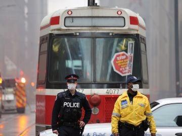 Policía en Canadá