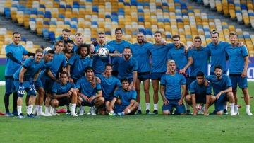 La plantilla del Real Madrid, lista para la final