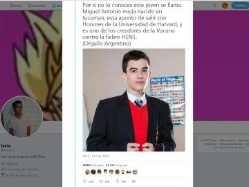 ¿Miguel Antonio Mejía?