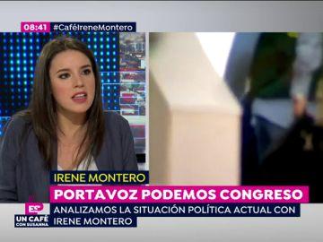 Irene Montero, sobre Eduardo Zaplana