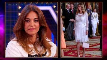 Mariló Monteró comenta la polémica foto del día del besamanos del Rey Felipe VI