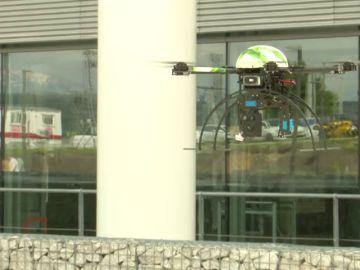 La seguridad con drones conquista los molinos eólicos