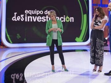 Silvia Abril aparece en 'La noche de Rober' como Gloria Serra en 'Equipo de desinvestigación'