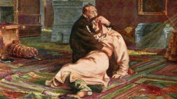 Obra 'Iván el Terrible y su hijo'