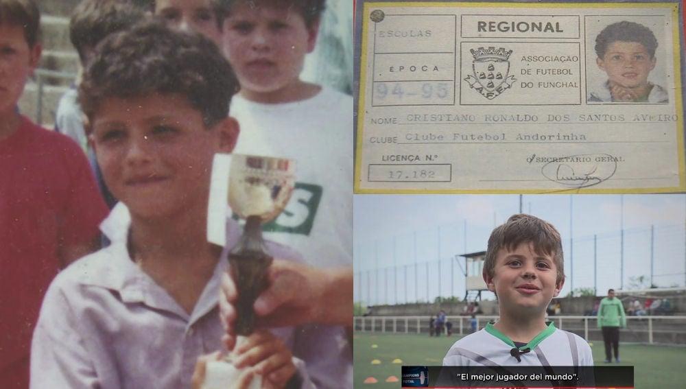 El origen de Cristiano Ronaldo en el Andorinha