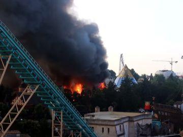 Incendio en Europa Park