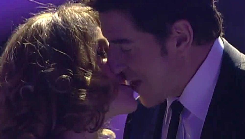 Manel Fuentes y Angy Fernández en 'Tu cara me suena'