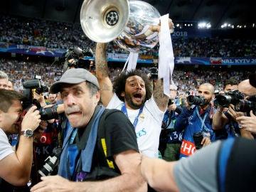 Marcelo levanta la Champions en Kiev